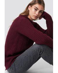 Rut&Circle - Samira Open Back Knit - Lyst