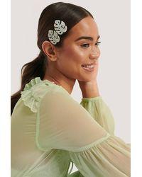 NA-KD Accessories Ovale Haarclip - Meerkleurig
