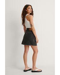 Levi's Iconic Bf Skirt - Zwart