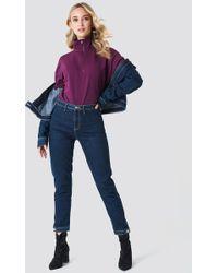 NA-KD - Zipper Sweatshirt - Lyst