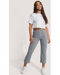 Fila Grey Mabli Cropped Trousers