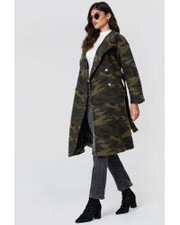 NA-KD - Camo Coat - Lyst