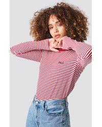 Rut&Circle - Oui Stripe Top Red - Lyst