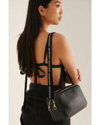 Calvin Klein Double Zip Camera Bag - Schwarz