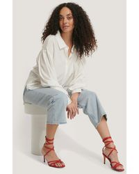 NA-KD Ankle Strap Stiletto heels - Rouge