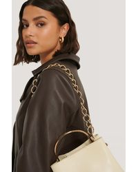 NA-KD Accessories Removable Chunky Bag Chain - Metallic