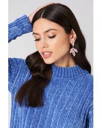NA-KD - Jewel Flower Earrings - Lyst