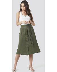 Mango Comptesa Skirt - Groen