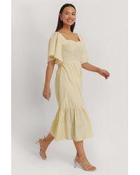 Trendyol - Yellow Tulum Midi Dress - Lyst