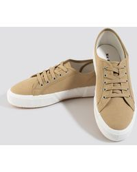NA-KD Basic Canvas Sneakers - Multicolore