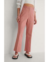 NA-KD Pantalon - Roze
