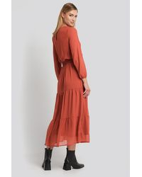 Sisters Point Copper Nicoline-m Dress - Red