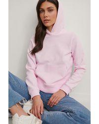 Calvin Klein Organisch Hoodie - Roze
