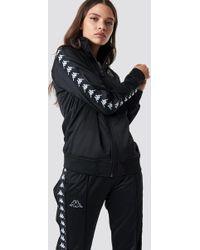 Kappa - Anniston Track Jacket Black/white - Lyst
