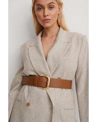 NA-KD - Brown Vintage Look Belt - Lyst
