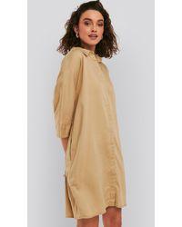 NA-KD - Boxy Short Sleeve Dress - Lyst
