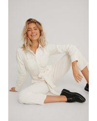 NA-KD Trend Jumpsuit - Weiß