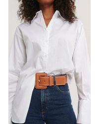 NA-KD Accessories Taillengürtel - Braun