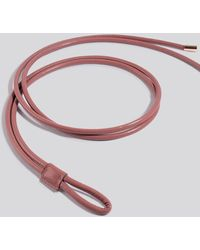 NA-KD Accessories Rope Loop Belt - Pink