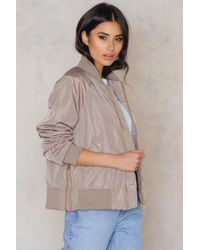NA-KD   Side Zippers Bomber Jacket   Lyst