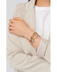 NA-KD Armbandenset - Metallic