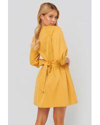 NA-KD Mini-jurk - Geel