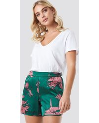 Rut&Circle Flower Smock Shorts - Mehrfarbig
