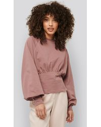 NA-KD - Oversized Raglan Sleeve Sweater - Lyst