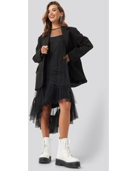 Sisters Point Black Epis Dress