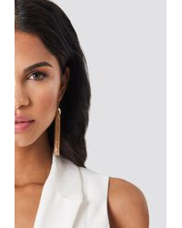 NA-KD - Tulips Hanging Chains Earrings - Lyst