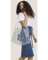 Fila White City Shopper Bag