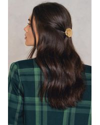 NA-KD | Round Stone Hair Clip | Lyst