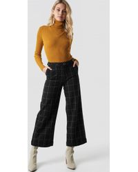 Mango - Fenix Trousers Black - Lyst