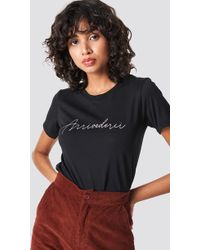 Colourful Rebel - Arrivederci Classic Tee Black - Lyst