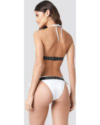 Calvin Klein Fixed Triangle Rp Top - Wit