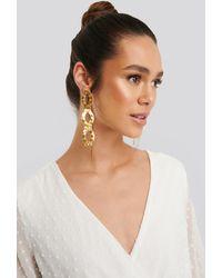 Mango Gold Daniela Earrings - Metallic