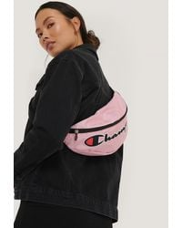 Champion Pink Logo Belt Bag