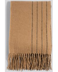 NA-KD Half Striped Soft Scarf - Multicolore