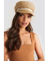 Trendyol Camel Cap Hat Beige - Natural