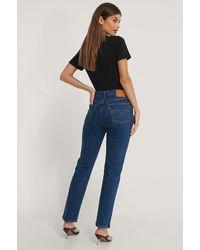 Levi's Levi's 501 Crop Jeans - Blau