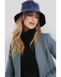 NA-KD Pu Bucket Hat - Blauw