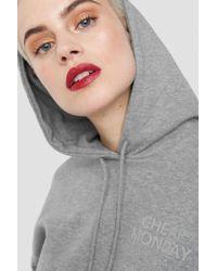 Cheap Monday - Form Hood Chp Mnd Sender Grey - Lyst