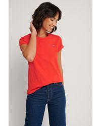 Levi's T-shirt - Rood