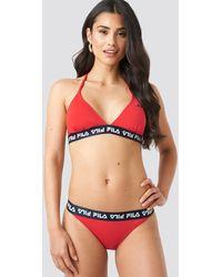 Fila Red Sally Bikini Bottom X Na-kd