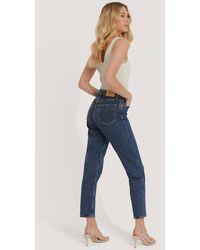 Calvin Klein Mom Jeans - Blauw