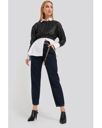 NA-KD - Trend Cropped Balloon Leg Jeans - Lyst