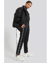 Fila Padma Cropped Pants - Zwart