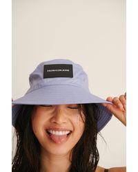 Calvin Klein Essential Bucket Hat - Paars