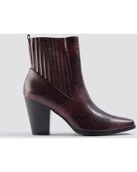 NA-KD Shoes Cowboy Boots - Mehrfarbig