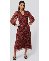 Mango Winona Dress - Rood
